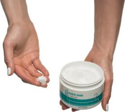 Using the ReTone stretch mark cream