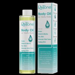 Body Oil Infused with Gotu Kola