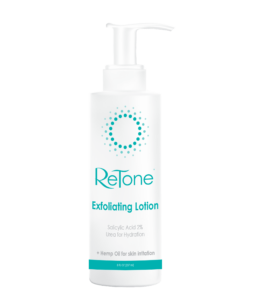 Keratosis Pilaris exfoliating body lotion
